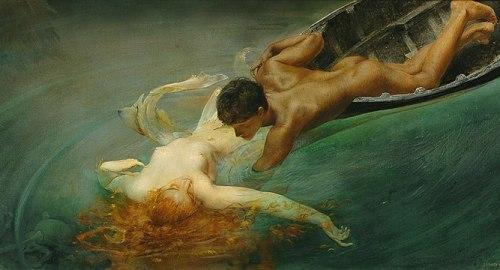 """G.-A.-Sartorio-""""La-Sirena""""-1893-GAM-di-Torino"""