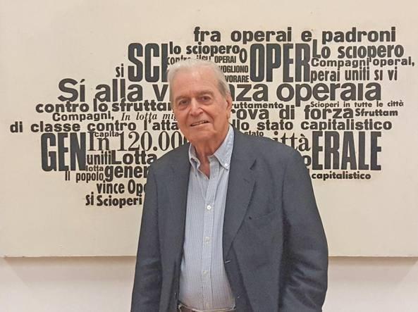 Nanni Balestrini in mostra a Visionarea Artspace