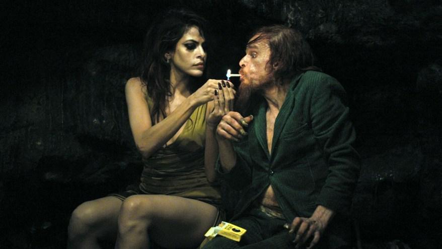Holy Motors - Eva Mendes e Denis Lavant