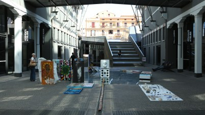 Nuvola Creativa al Macro, Da Vinci a Milano