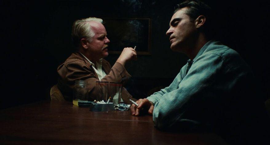 The Master - Philip Seymour Hoffman e Joaquin Phoenix