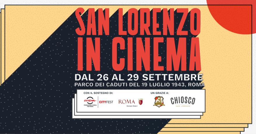 San Lorenzo in cinema con Alessandro Borghi