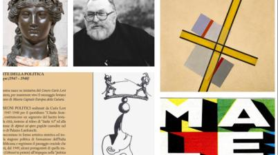 Valadier, Carlo Levi, Sergio Leone, Male e Bauhaus