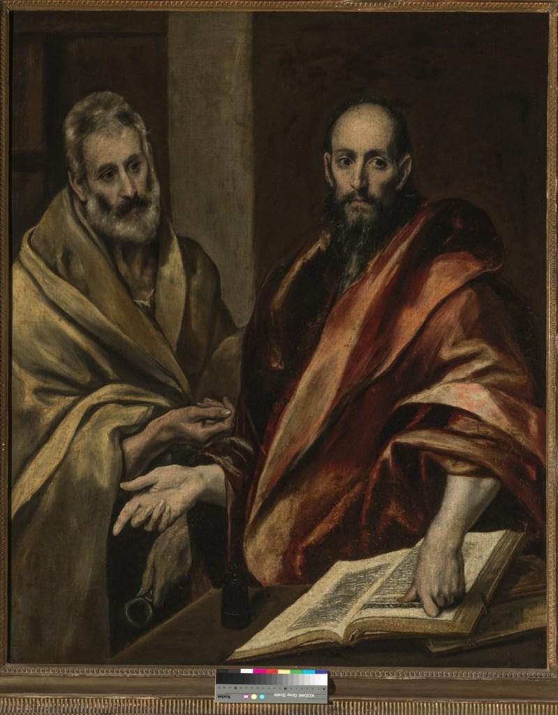 Santi Pietro e Paolo di El Greco