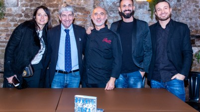 Federica Cappelletti, Paolo Rossi, Giovanni Nerini, Alessio Di Cosimo e Andrea Laurenza