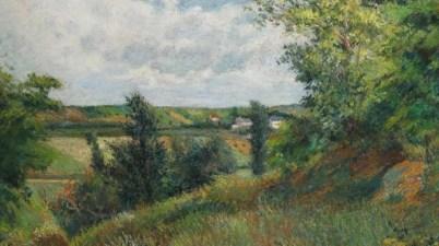 """""""Il sentiero di Gratte Coqs"""" di Gauguin nella Galleria Russo""""Il sentiero di Gratte Coqs"""" di Gauguin nella Galleria Russo"""