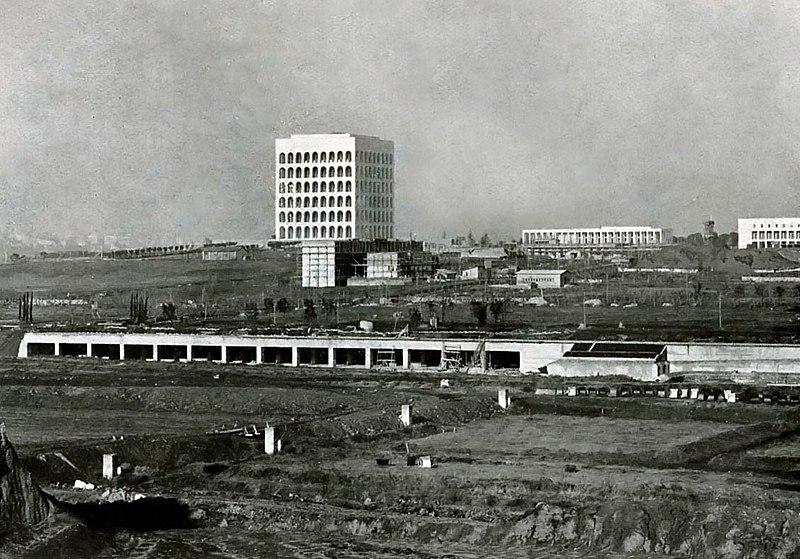 Il quartiere Eur nel 1940