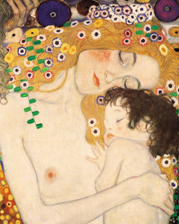 Mother and Child di Gustav Klimt