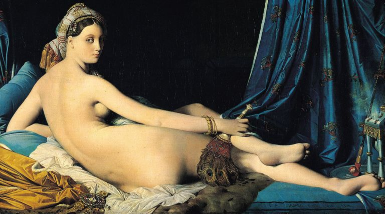 The Grande Odalisque by Jean Auguste Dominique Ingres