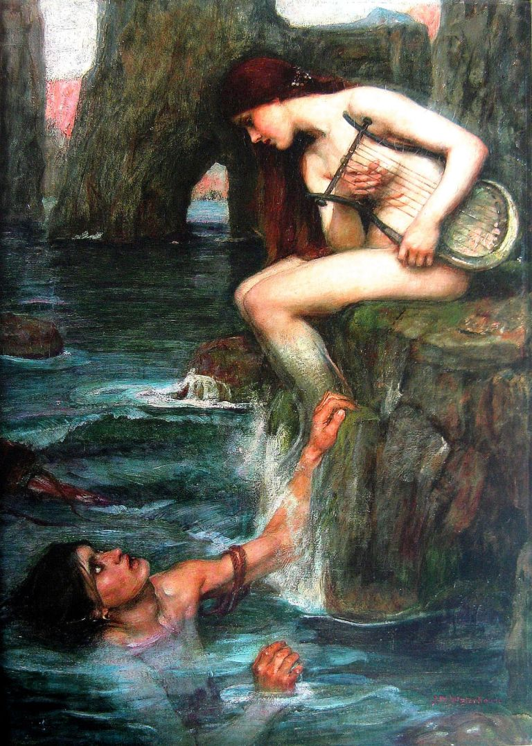 The Siren 1900 by John William Waterhouse