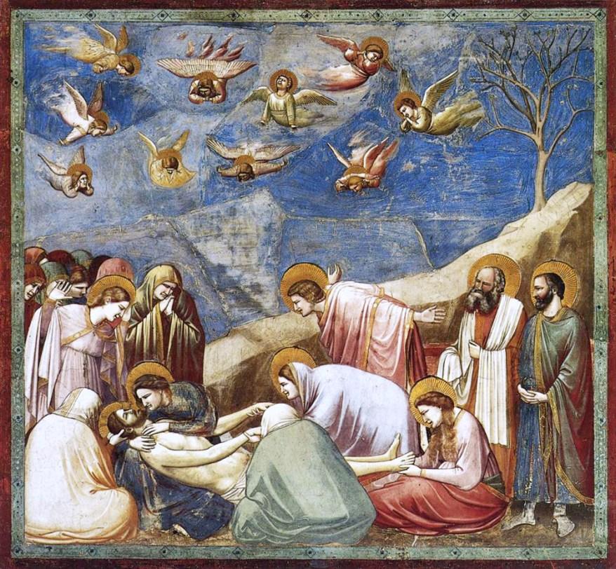 Compianto sul Cristo Morto (1303-1305 circa) di Giotto
