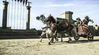 Roma World, bighe di Ben Hur