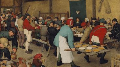 Pieter Bruegel - Banchetto nuziale
