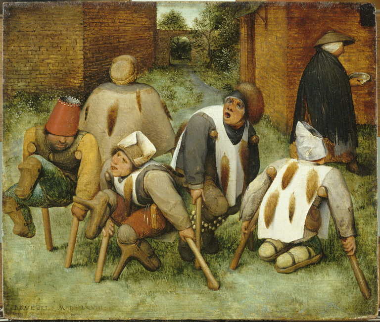 Pieter Bruegel the Elder, The Beggars (The Cripples)