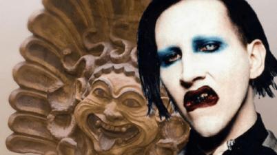 Marilyn Manson come Chiara Ferragni: l'ironico accostamento del Museo Etrusco di Villa Giulia