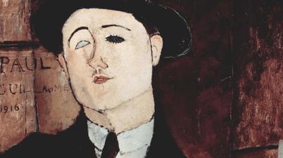 Ritratto di Paul Guillaume di Amedeo Modigliani