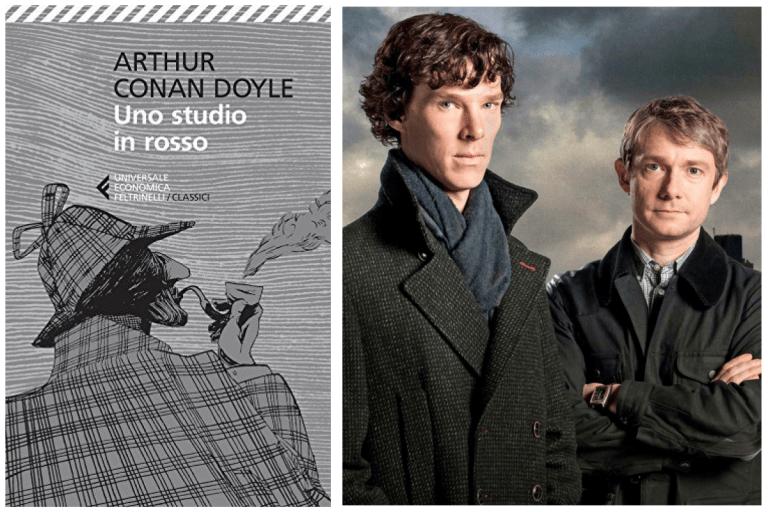 Libri e film a confronto – Uno studio in rosso di Arthur Conan Doyle e Uno studio in rosa della serie tv Sherlock