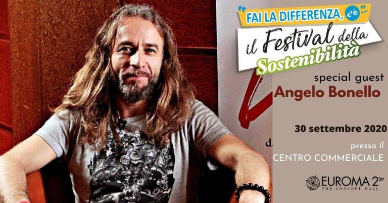 Angelo Bonello al Festival della Sostenibilità