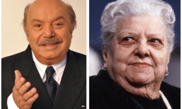 Lino Banfi e Sora Lella