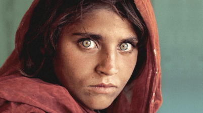 Ragazza Afgana di Steve McCurry