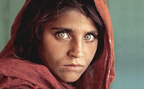Ragazza Afgana di Steve McCurry