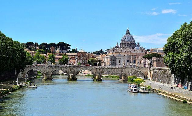 Tevere Day, Tevere di Roma e San Pietro