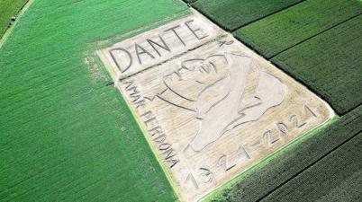 Dante: Land Art celebra con Maxi-opera anniversario 700 anni