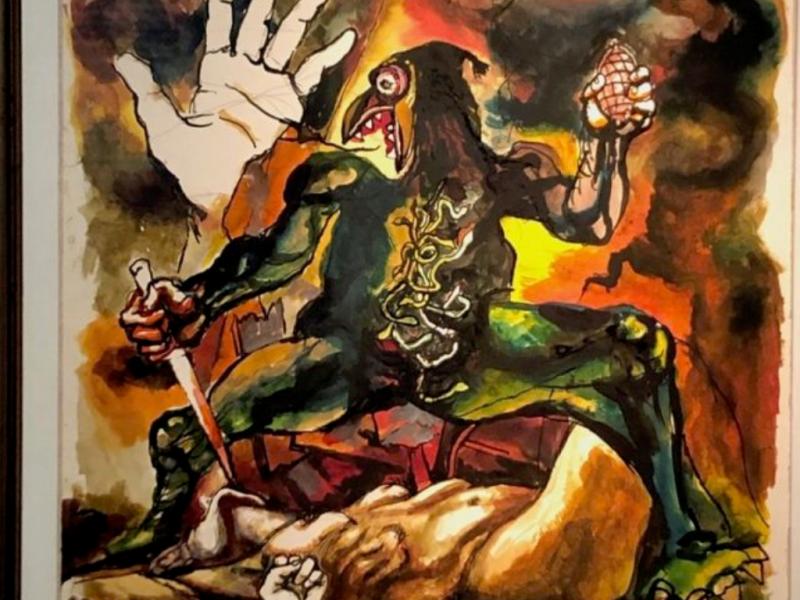 Il dipinto del 1980: Il sonno della ragione genera mostri di Renato Guttuso e la strage di Bologna