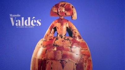 Manolo Valdés in mostra a Palazzo Cipolla per scoprire le sue forme del tempo