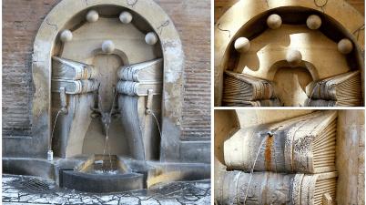 La Fontana dei Libri di Sant'Eustachio: tra cervo e libri c'è un errore