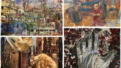 Lab Studio, in mostra le opere di Croce Taravella e delle attrici Nathaly Caldonazzo, Chiara Conti e Isabella De Vivo