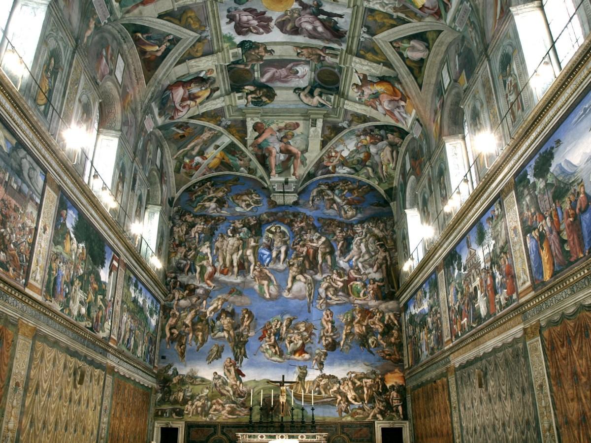 Cappella Sistina, Michelangelo
