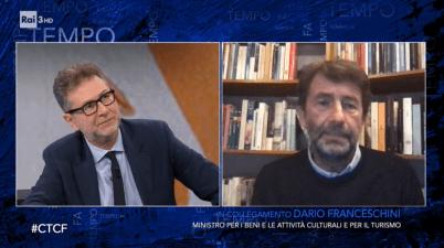 Fabio Fazio e Dario Franceschini