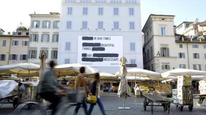"""""""In bad times beautiful things are necessary"""", il messaggio di Gente Roma per promuovere la bellezza"""