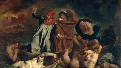 Il dipinto del 1822: La barca di Dante di Eugène Delacroix