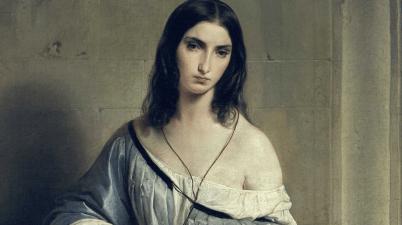 Il dipinto del 1840: la Malinconia di Francesco Hayez