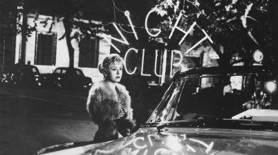 LE NOTTI DI CABIRIA (1957) di Federico Fellini. Con Giulietta Masina, Francois Périer e Franca Marzi