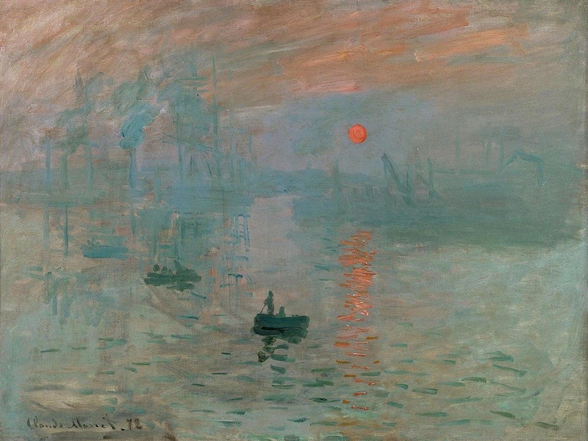 Impressione, levar del sole di Claude Monet