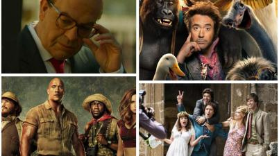 Da Dolittle a Jumanji, passando per Tolo Tolo, Gli anni più belli e Hammamet: ecco la top ten dei film con maggiori incassi dell'ultimo anno, in Italia e nel mondo