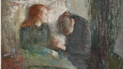 """Il dipinto del 1885 - La """"fanciulla malata"""" di Edvard Munch e la morte della sorella Sophie"""