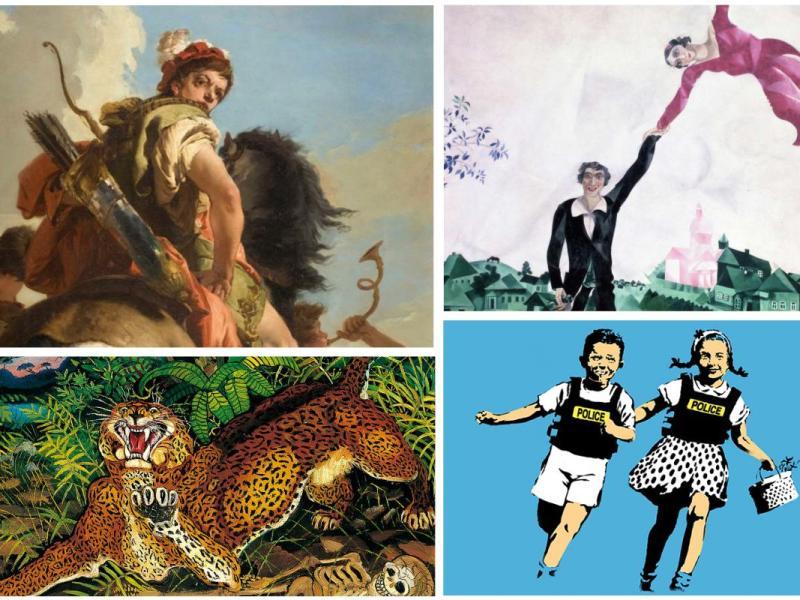 Da Tiepolo a Chagall, sei mostre da visitare al più presto in Italia