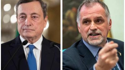 Mario Draghi e Massimo Garavaglia
