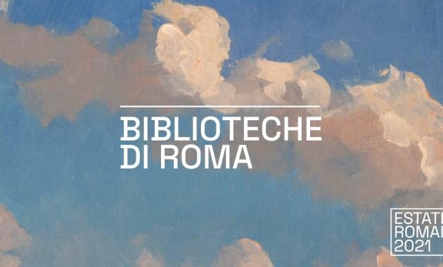Biblioteche di Roma, giardini e cortili diventano sale studio all'aperto