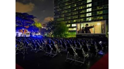 Al laghetto dell'Eur torna Floating Theatre, 78 giorni tra film ed eventi