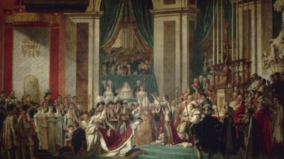 Il dipinto del 1805 - L'incoronazione di Napoleone di Jacques-Louis David