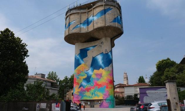L'opera di street art più grande d'Italia è a Padova e occupa 4mila metri quadrati di superficie