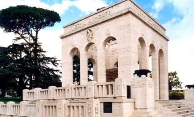 Mausoleo Ossario Garibaldino, dove Garibaldi svolse l'ultima strenua difesa della Repubblica Romana