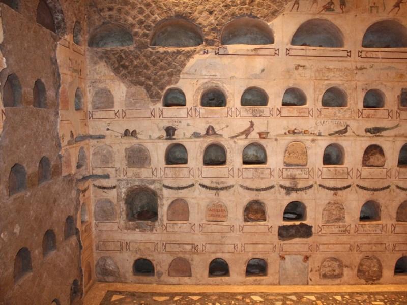 La Necropoli di Villa Doria Pamphilj e i suoi Colombari