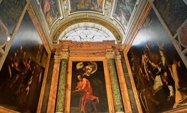 La Cappella Contarelli e le tre tele di Caravaggio