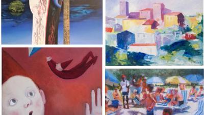 """""""Arte d'estate"""", quattrocento opere per la collettiva estiva di Edarcom Europa"""